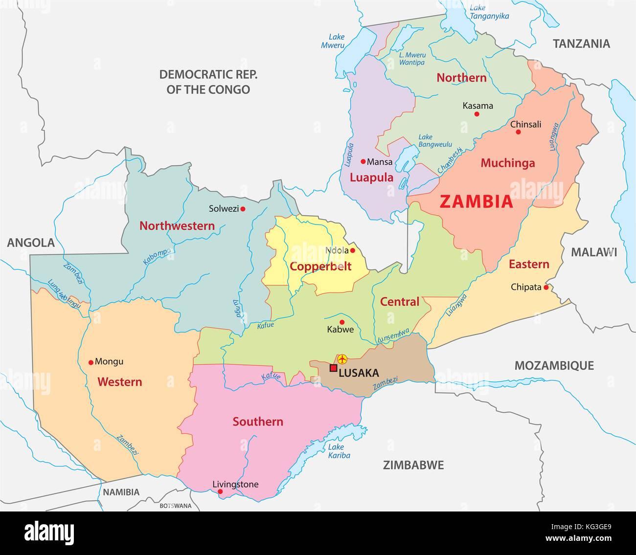 Map Of Africa Zambia.Map Africa Zambia Stock Photos Map Africa Zambia Stock Images Alamy
