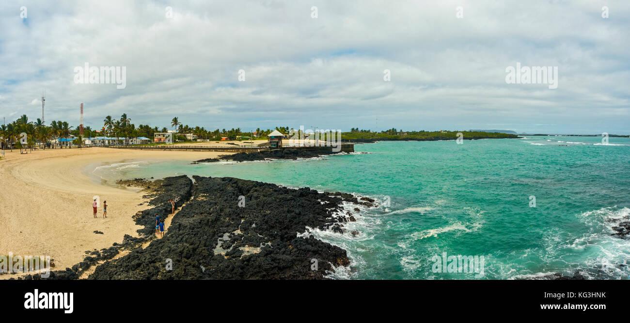 Galapagos isla isabela south america ecuador travel sierra negra - Stock Image