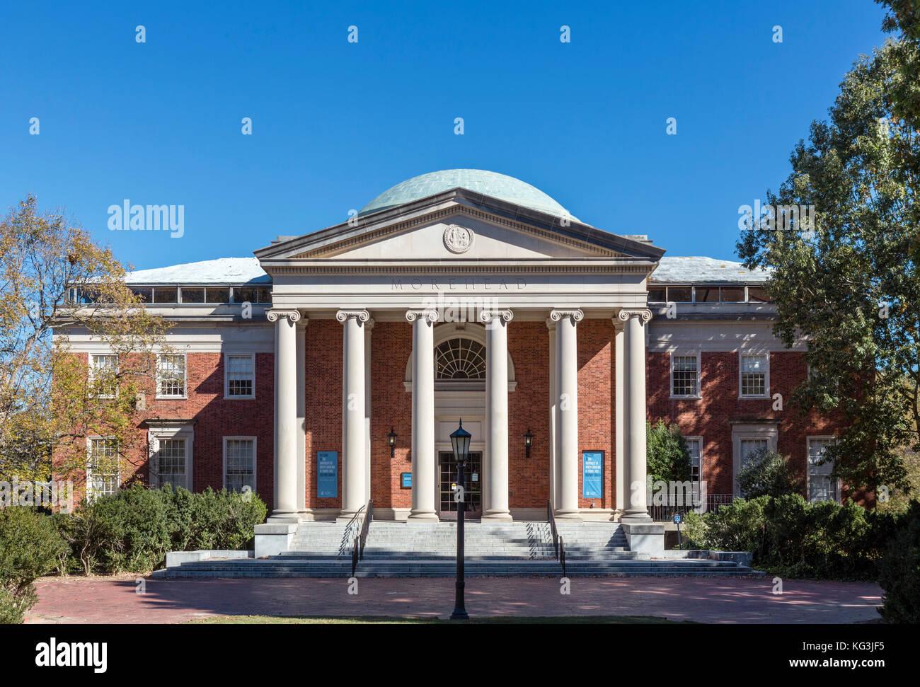 The Morehead Planetarium and Science Center, University of North Carolina at Chapel Hill, North Carolina, USA - Stock Image