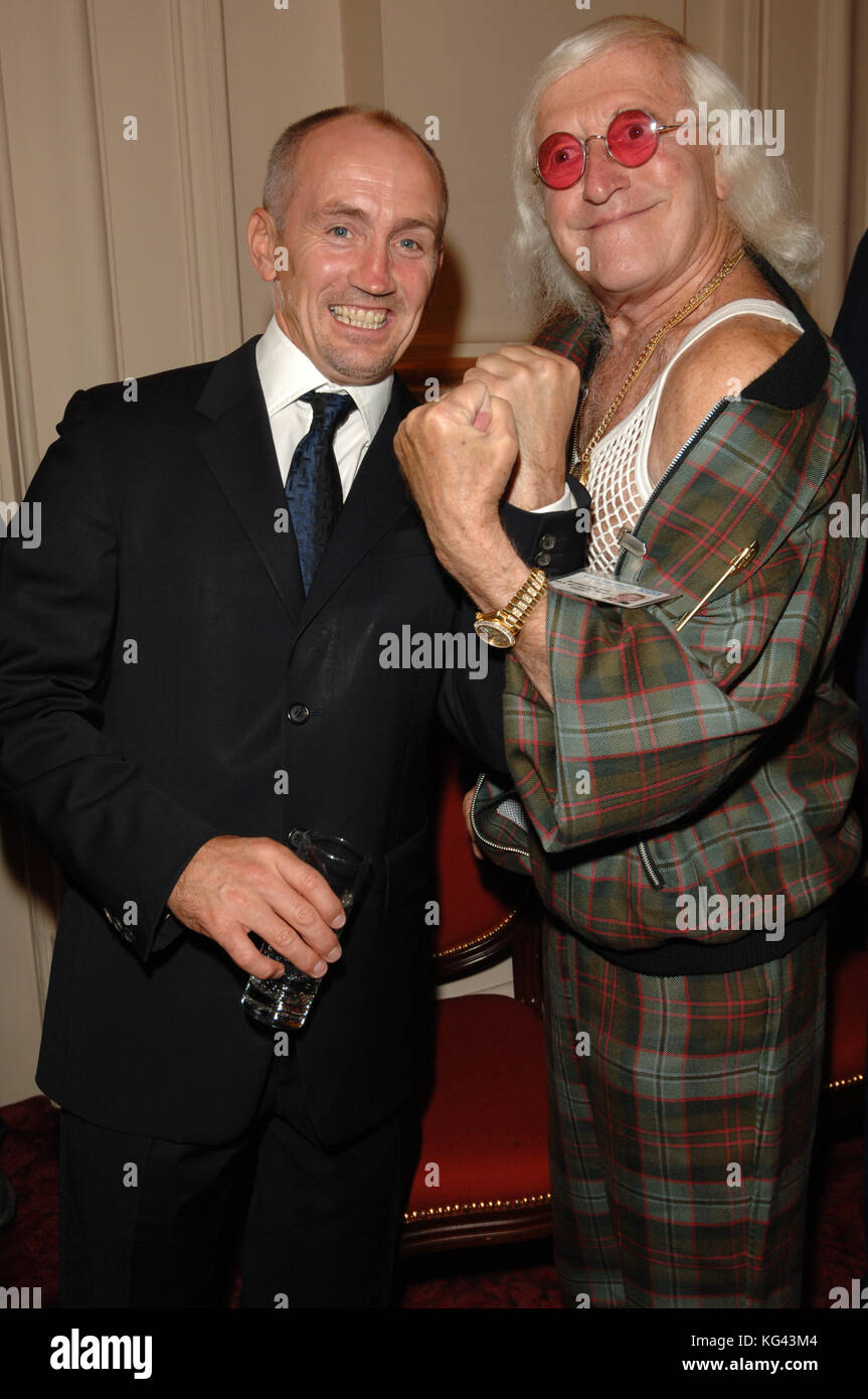Former boxing champion Barry McGuigan and disgraced former