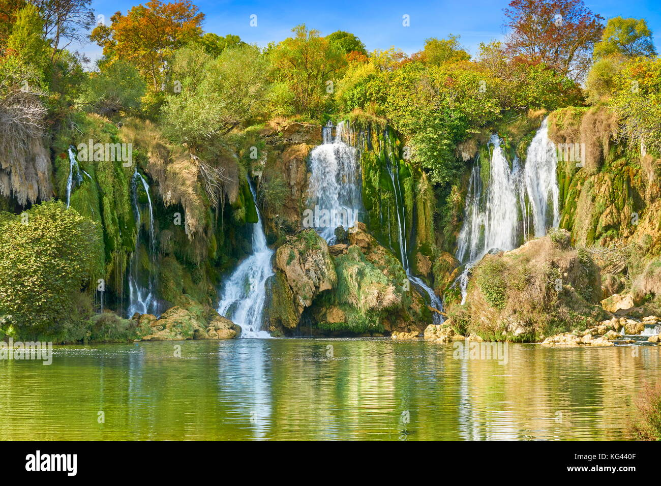 Kravica waterfalls, Bosnia and Hercegovina - Stock Image