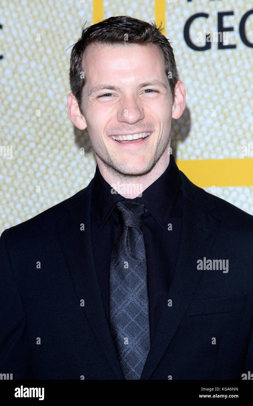 Ezekiel Swinford at arrivals for National Geographic's THE LONG ROAD HOME Premiere - Part 2, Royce Hall, Los - Stock Image