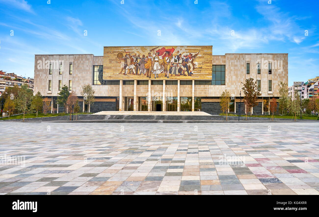 National History Museum, Tirana, Albania - Stock Image