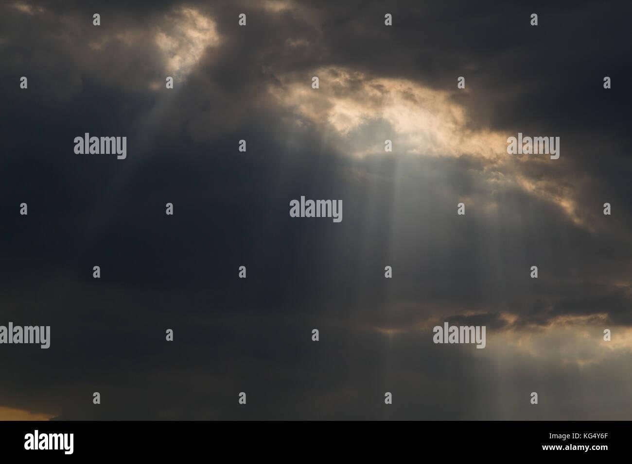 Sonnenstrahlen - Stock Image