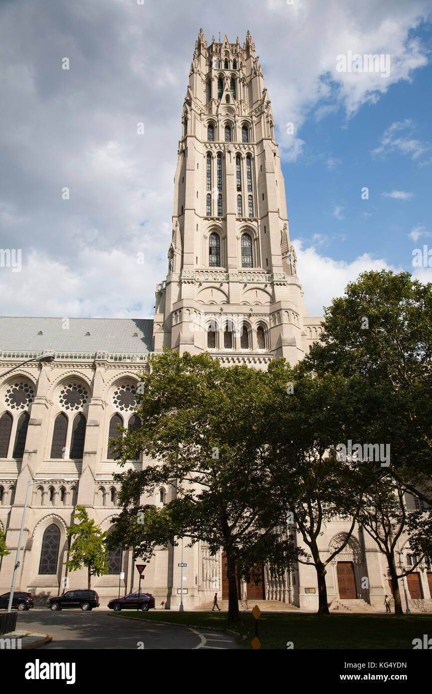 Cathedral of St John the Divine, Manhattan, New York, USA, America - Stock Image
