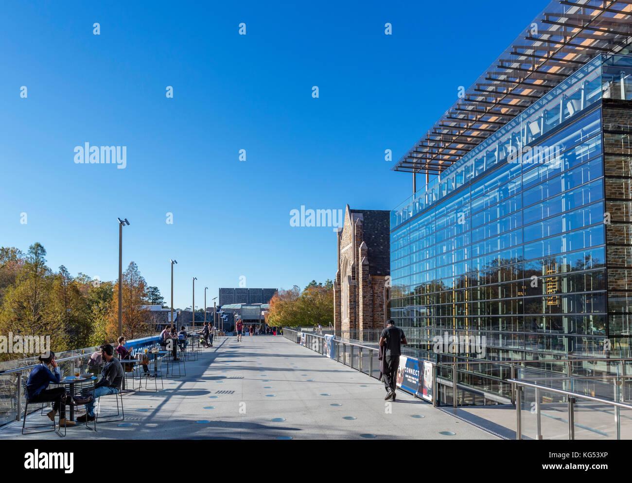 The Brodhead Center at Duke University, Durham, North Carolina, USA. - Stock Image