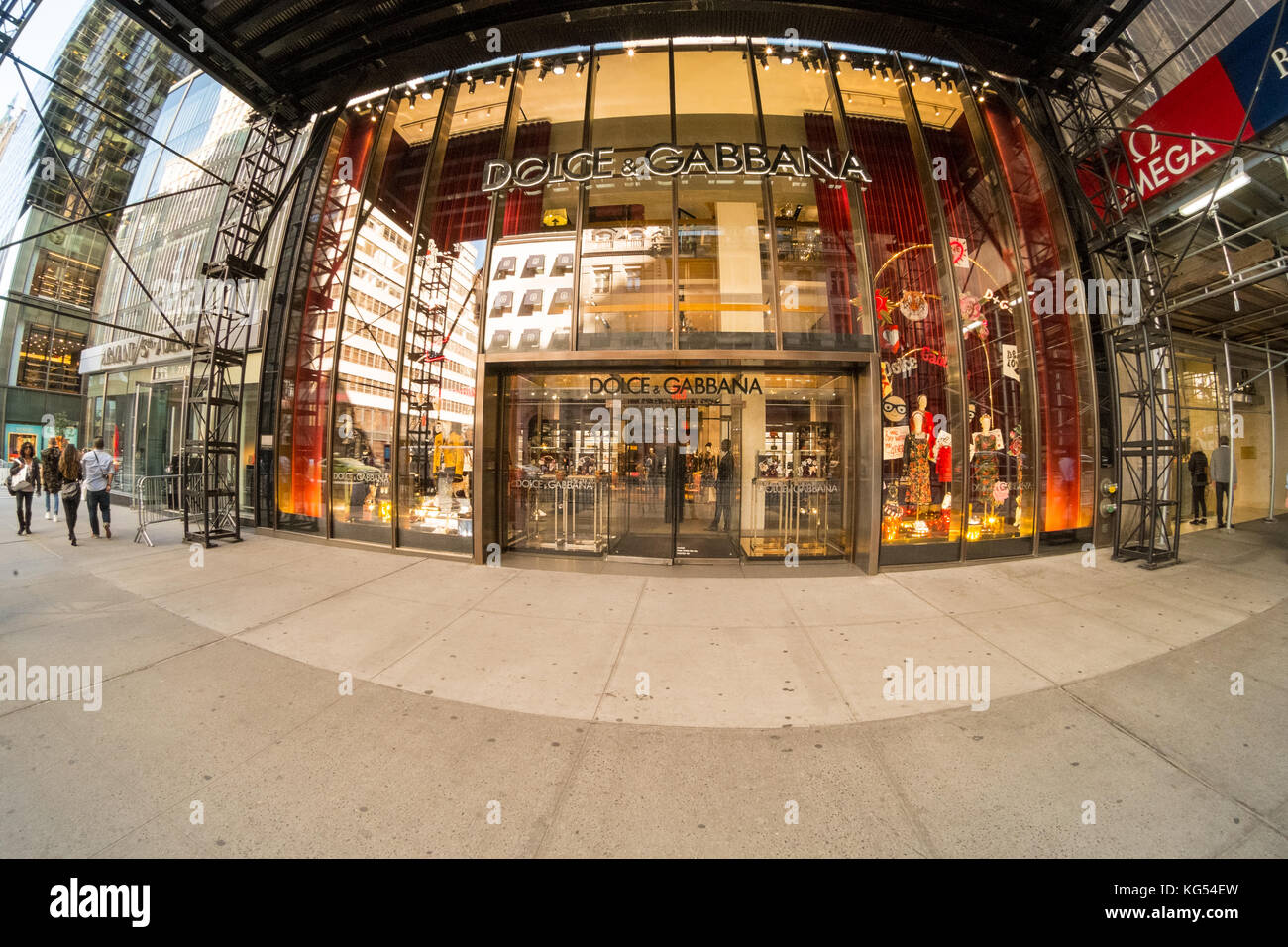 736afc32ac Dolce & Gabbana's store, Fifth Avenue, New York City, NY, United States of  America, U.S.A