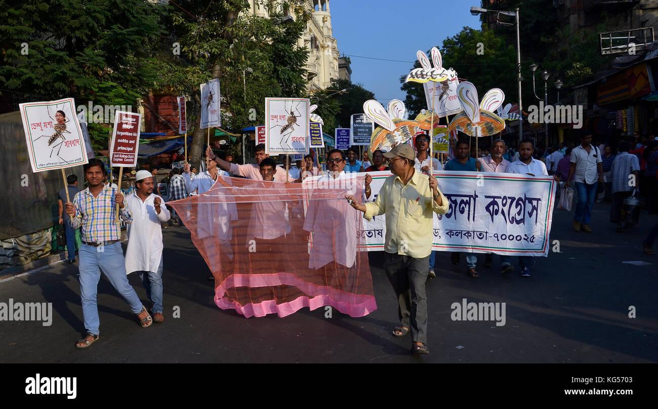 Kolkata, India  03rd Nov, 2017  West Bengal Pradesh Congress