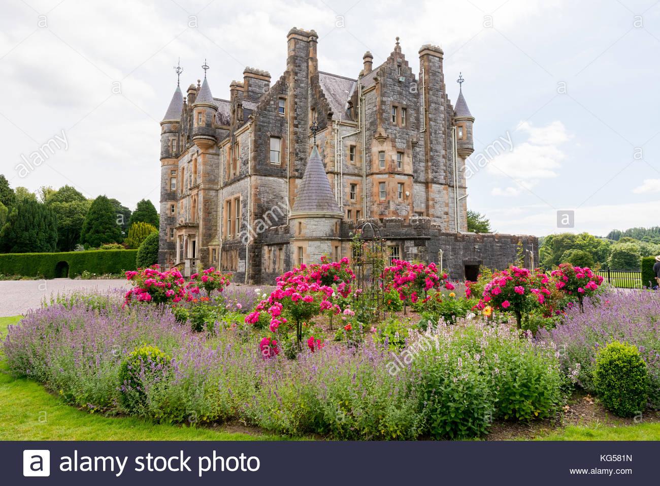 Landscapes of Ireland. Blarney castle, near Cork - Stock Image