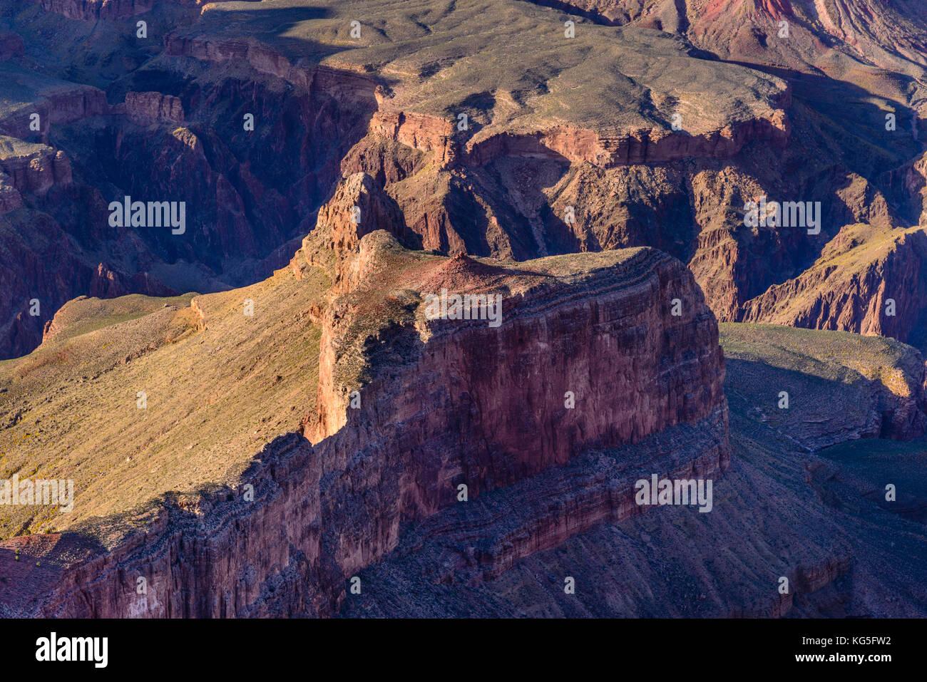 The USA, Arizona, Grand canyon National Park, South Rim, Hopi Point - Stock Image