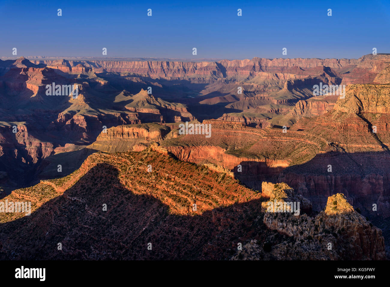 The USA, Arizona, Grand canyon National Park, South Rim, Grandview Point - Stock Image