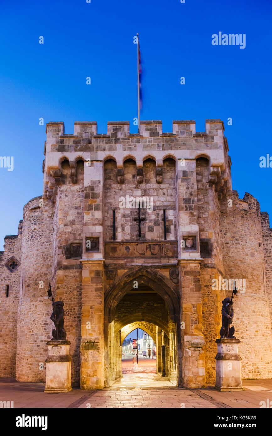 England, Hampshire, Southampton, Bargate Stock Photo