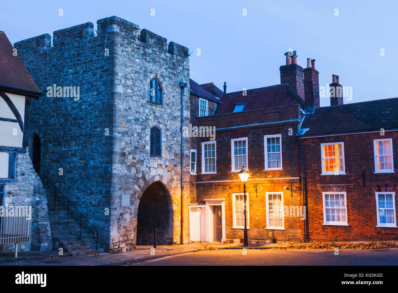 England, Hampshire, Southampton, Westgate - Stock Image
