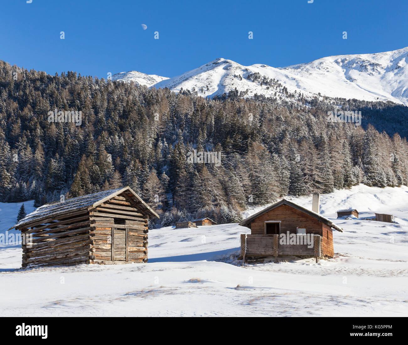 Pfunds Tschey, Pfunds, Inntal, Tirol, Osterreich, Europe - Stock Image