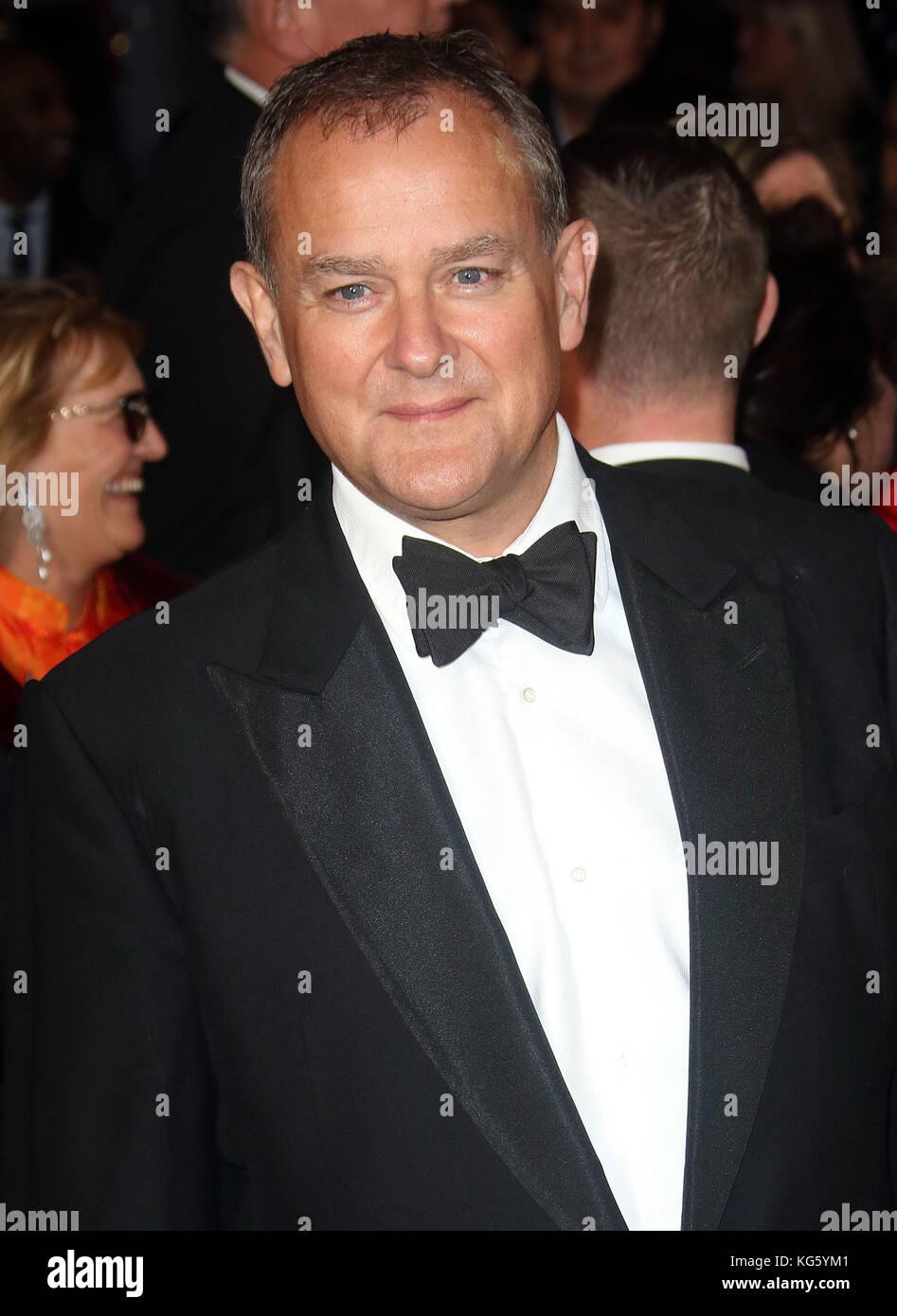 Oct 04, 2017 - Hugh Bonneville attending 'Breathe' European Premiere, Odeon Leicester Square in London, - Stock Image