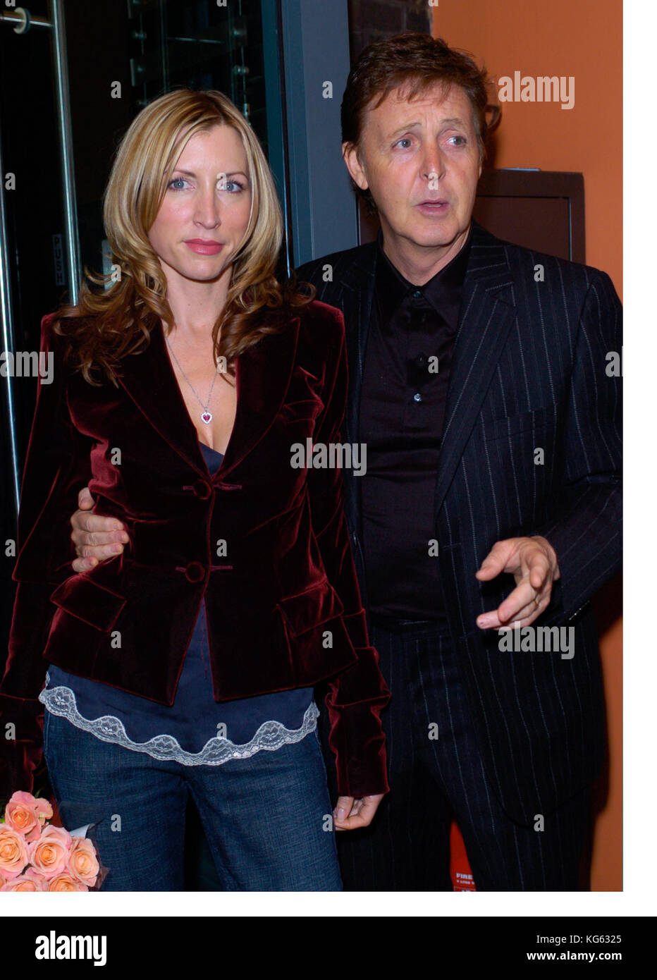 Paul McCartney And Heather Mills Attend A London Function England UK 2004