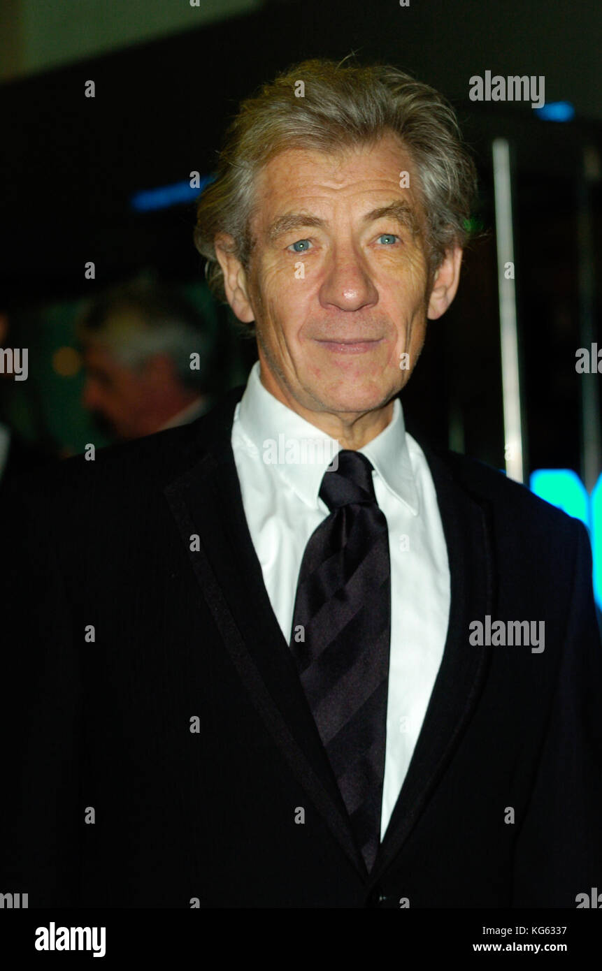 Sir Ian McKellen, CH, CBE, British actor, London England Uk 2004 - Stock Image