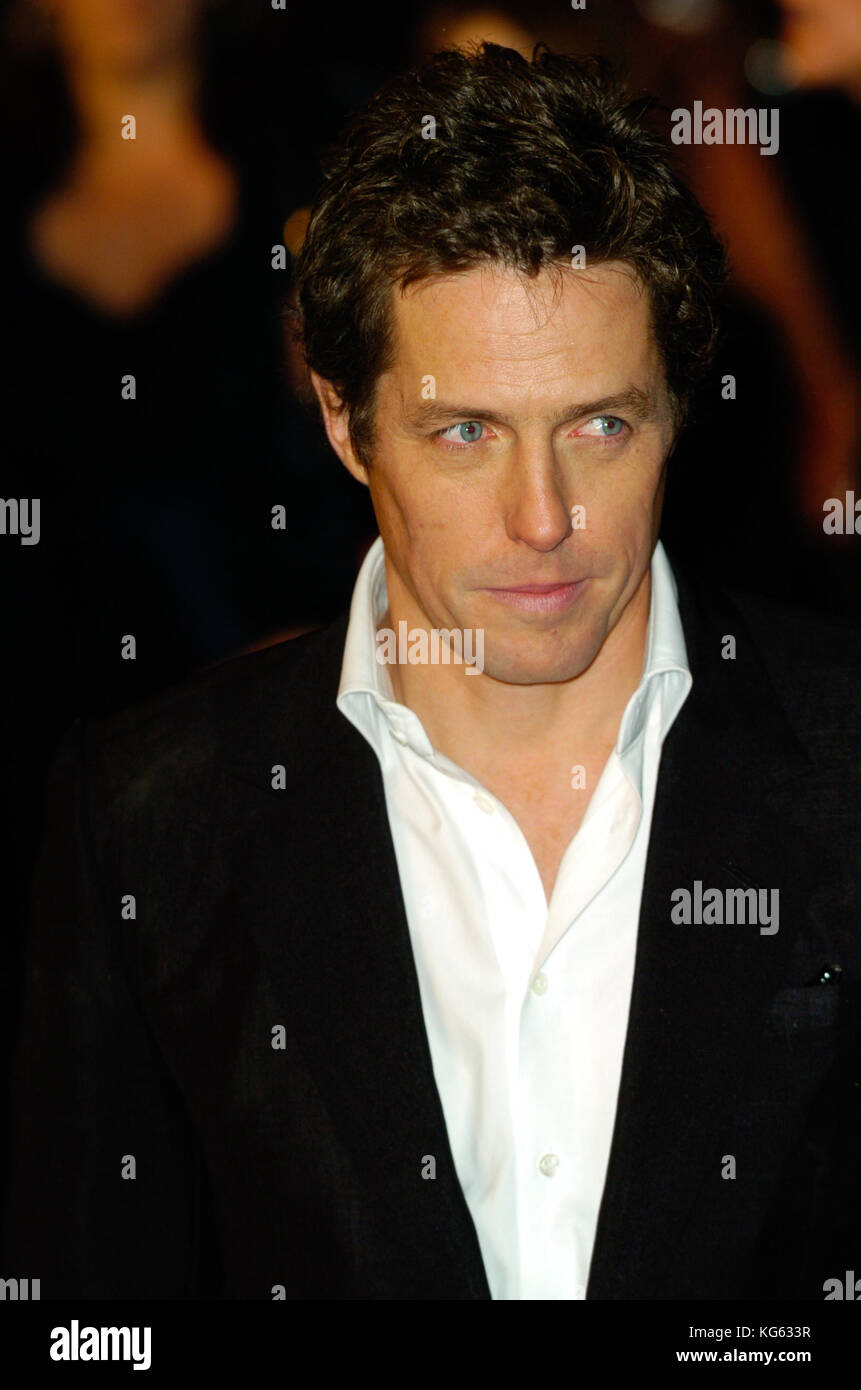 Hugh Grant,British actor,London,England UK 2004 - Stock Image