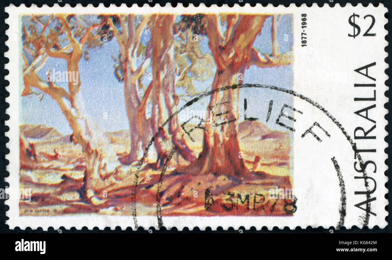 Postage Stamp - Australia - Stock Image