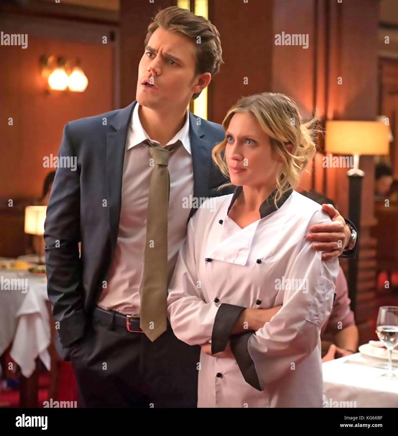 THE LATE BLOOMER 2016 Eclectic Pictures film with Brittany Snow and Paul Wesley - Stock Image
