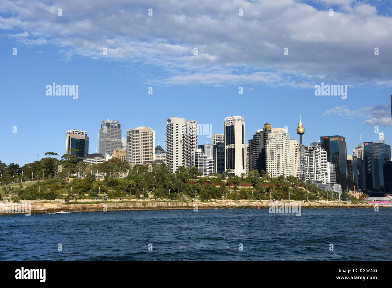 Views of Darling Harbour, Sydney - Stock Image