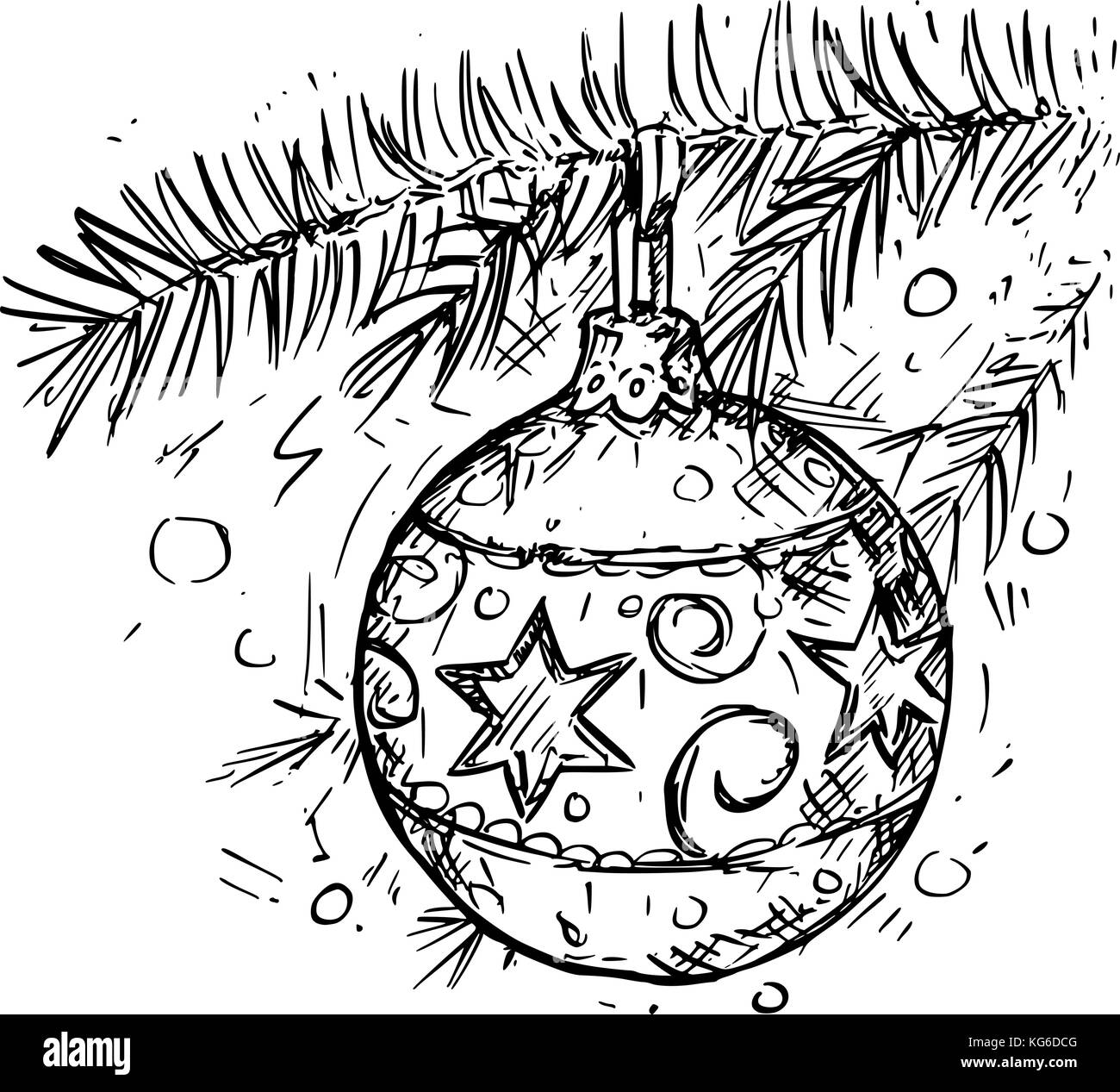 Christmas Drawing High Resolution Stock Photography And Images Alamy