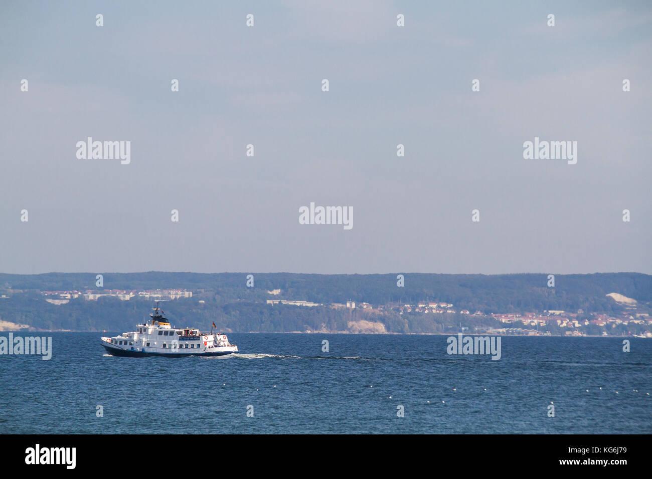 Ausflug mit dem Schiff - Stock Image