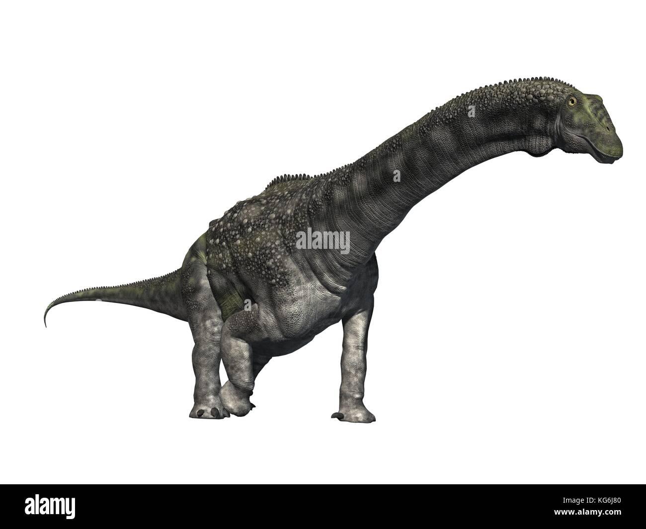 original 3D render of Dinosaur Stock Photo