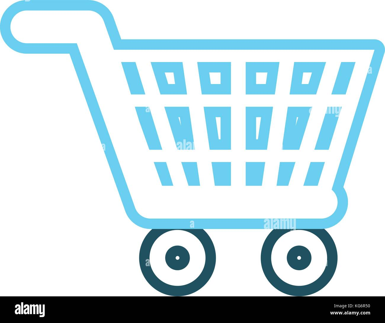 shop car vector illustration - Stock Vector