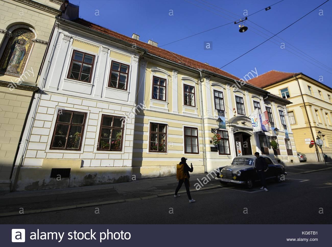 Zagreb,Croatia. Croatian Museum of Naive Art - Stock Image