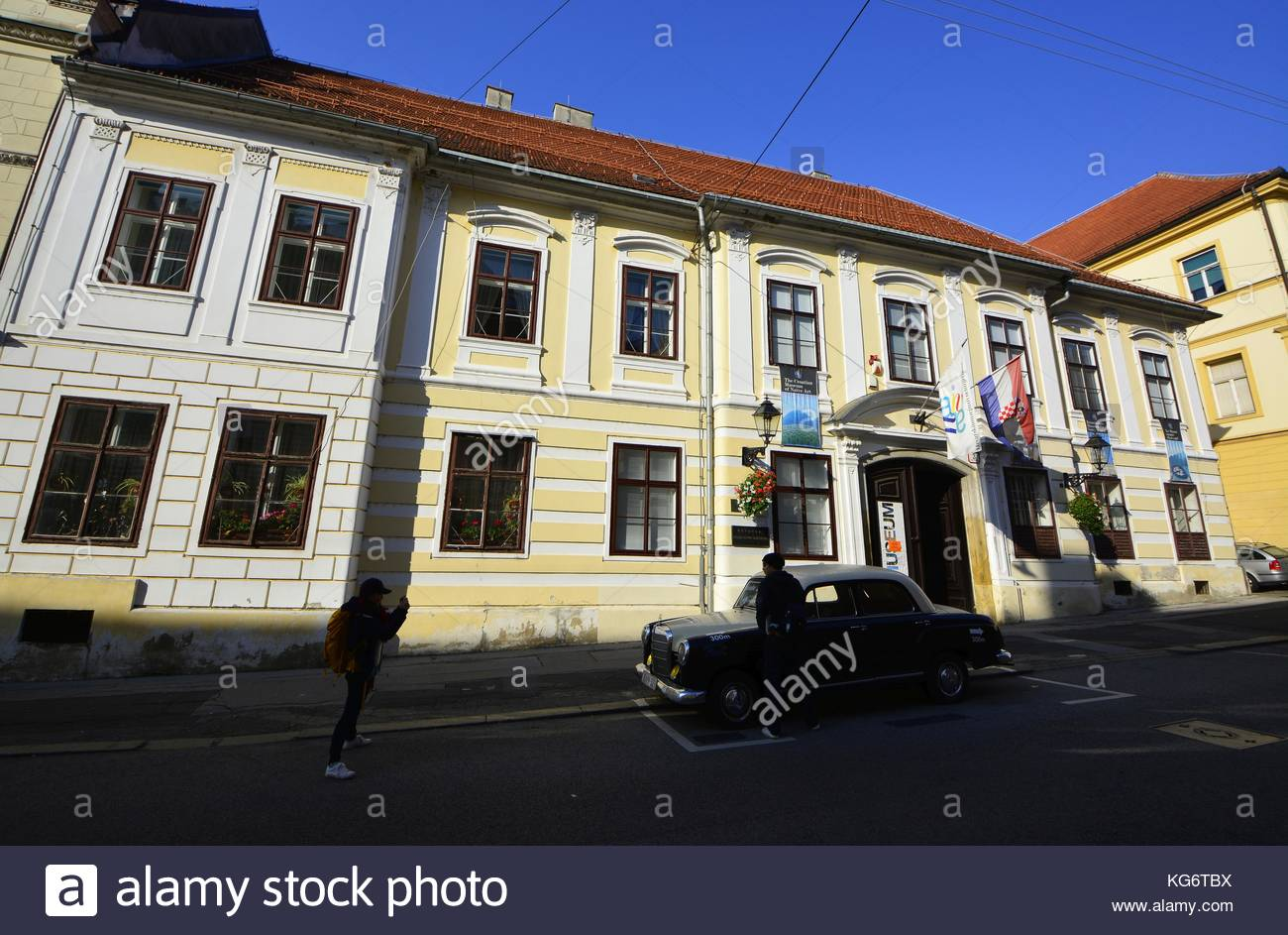 Zagreb,Croatia. Croatian Museum of Naive Art Stock Photo
