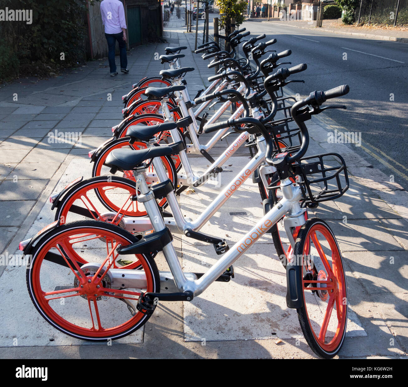 Dockless Bikes Stock Photos Amp Dockless Bikes Stock Images