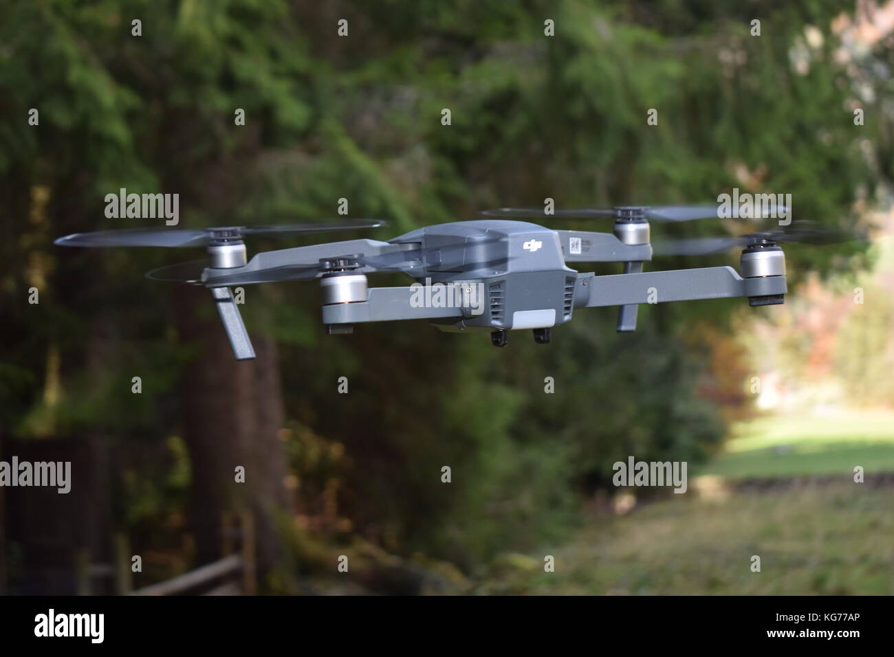 DJI Mavic Drone at flight - Stock Image