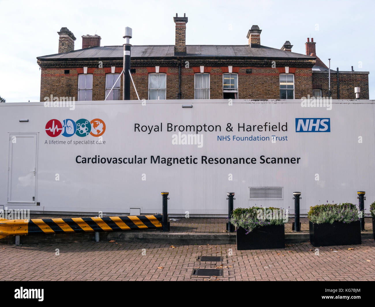 Cardiovascular Magnetic Resonance Scanner, Royal Brompton Hospital, Chelsea, London - Stock Image