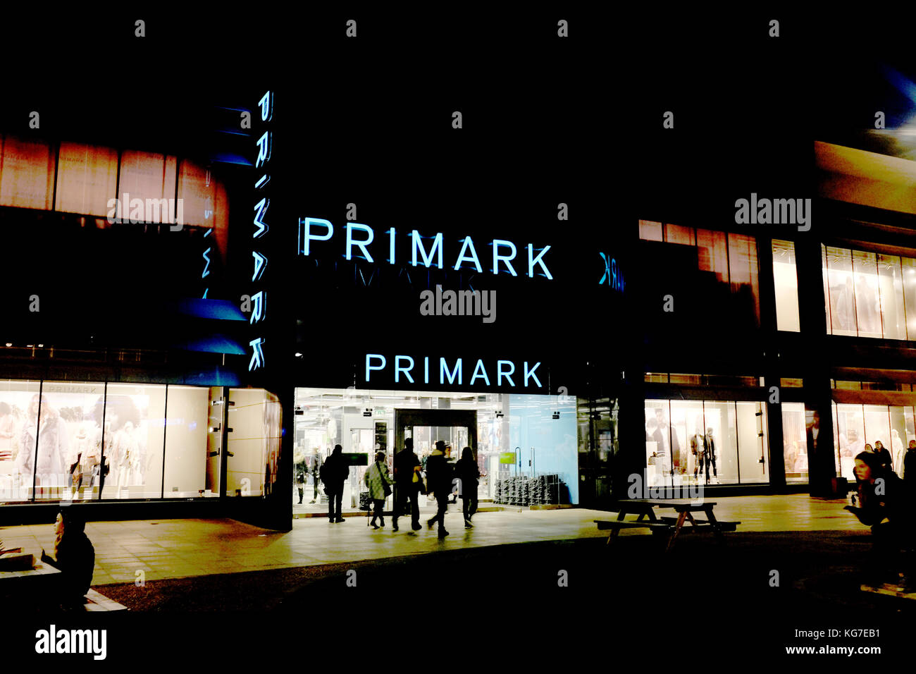 primark discount retail shop in westwood cross shopping centre county of kent uk november 2017 - Stock Image