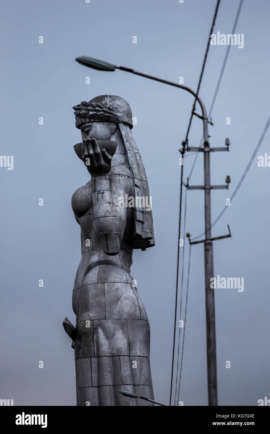 Kartlis Deda or Mother Georgia - a monument in the capital, Tbilisi Stock Photo