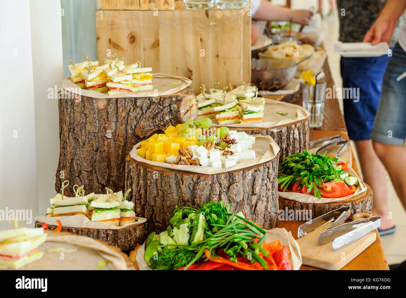 Outstanding Outside Catering Buffet Table With A Delicious Food For Download Free Architecture Designs Scobabritishbridgeorg