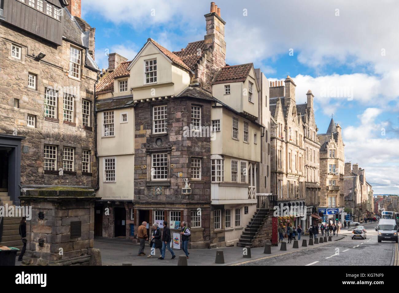 John Knox House, John Knox's House, historic 16th century house ...