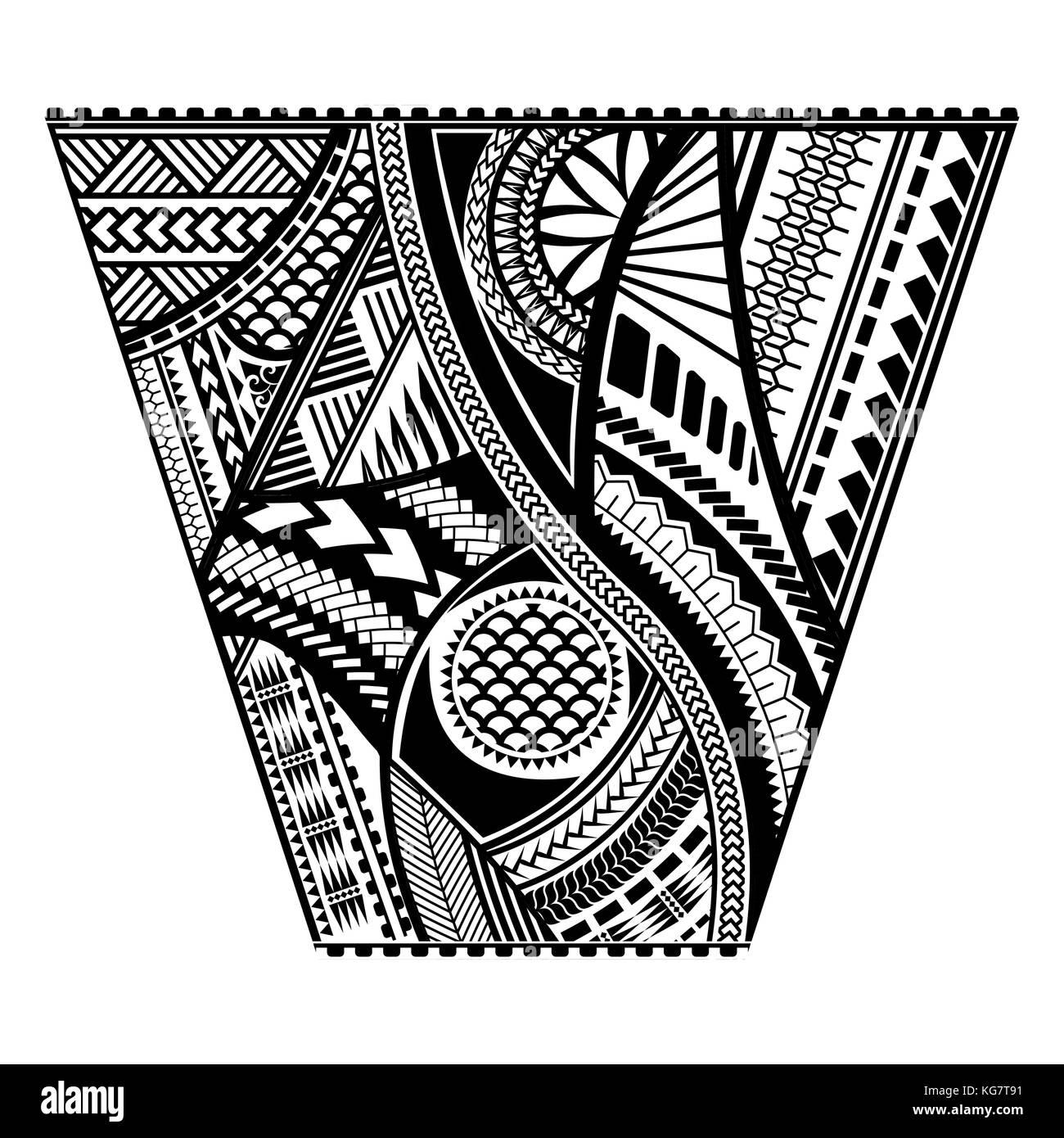 Polynesian Tattoo Stock Photos Polynesian Tattoo Stock Images Alamy