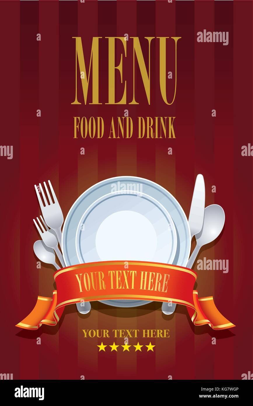 restaurant menu cover design  cover brochure design