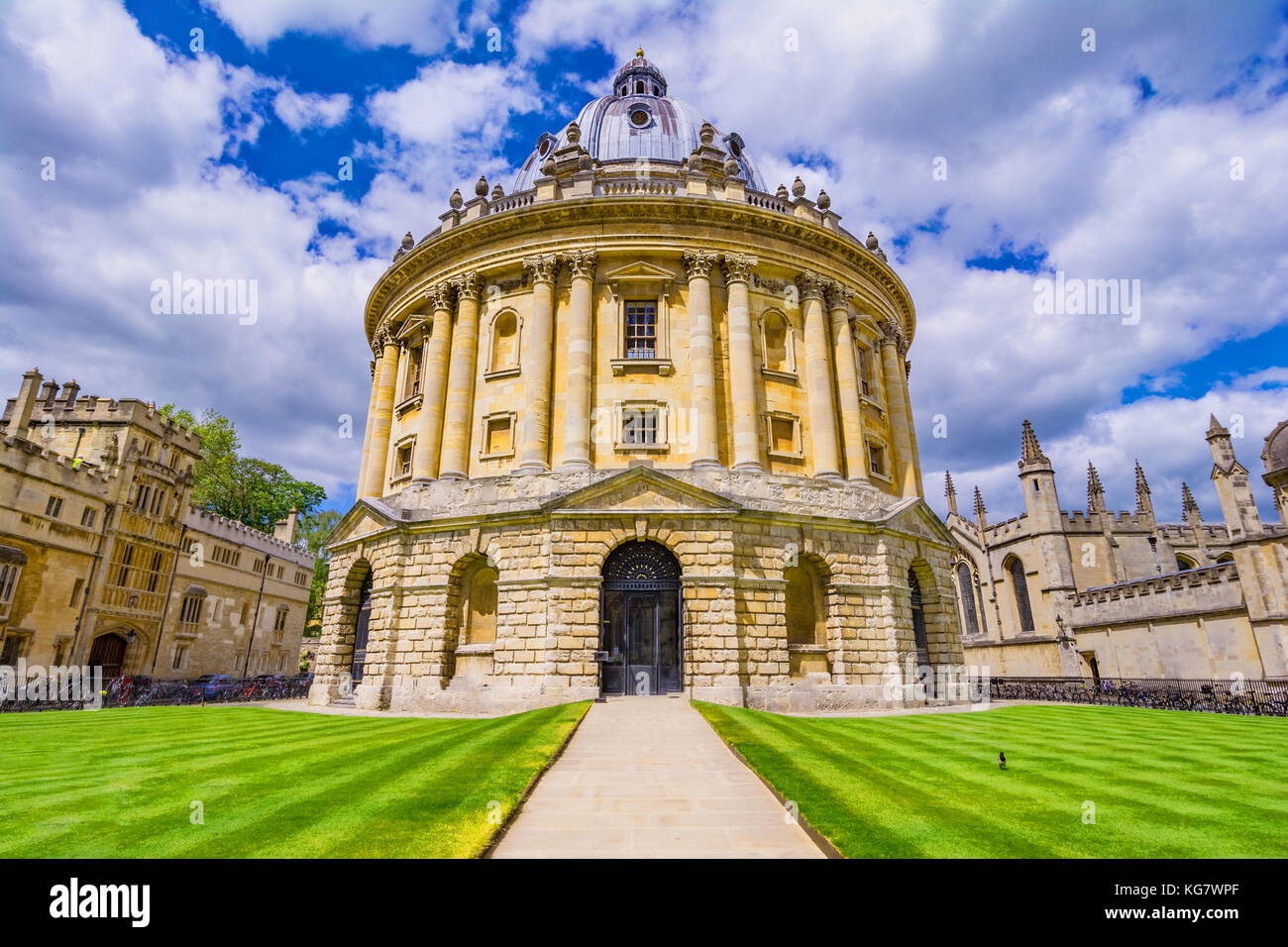 Radcliffe Camera, room addition to the Bodleian Library in Oxfor - Stock Image