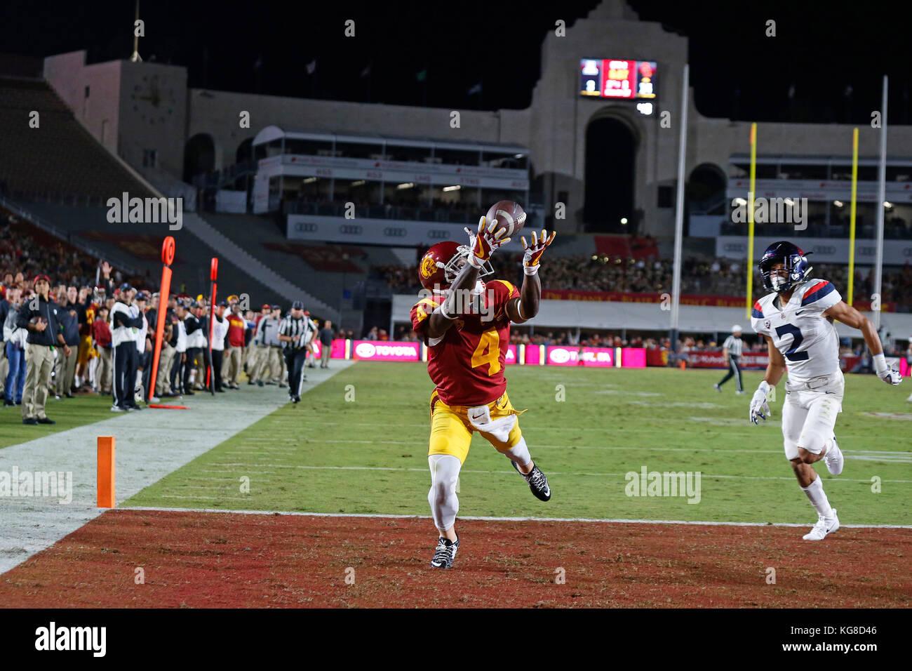 size 40 86554 78703 November 04, 2017 USC Trojans wide receiver Steven Mitchell ...