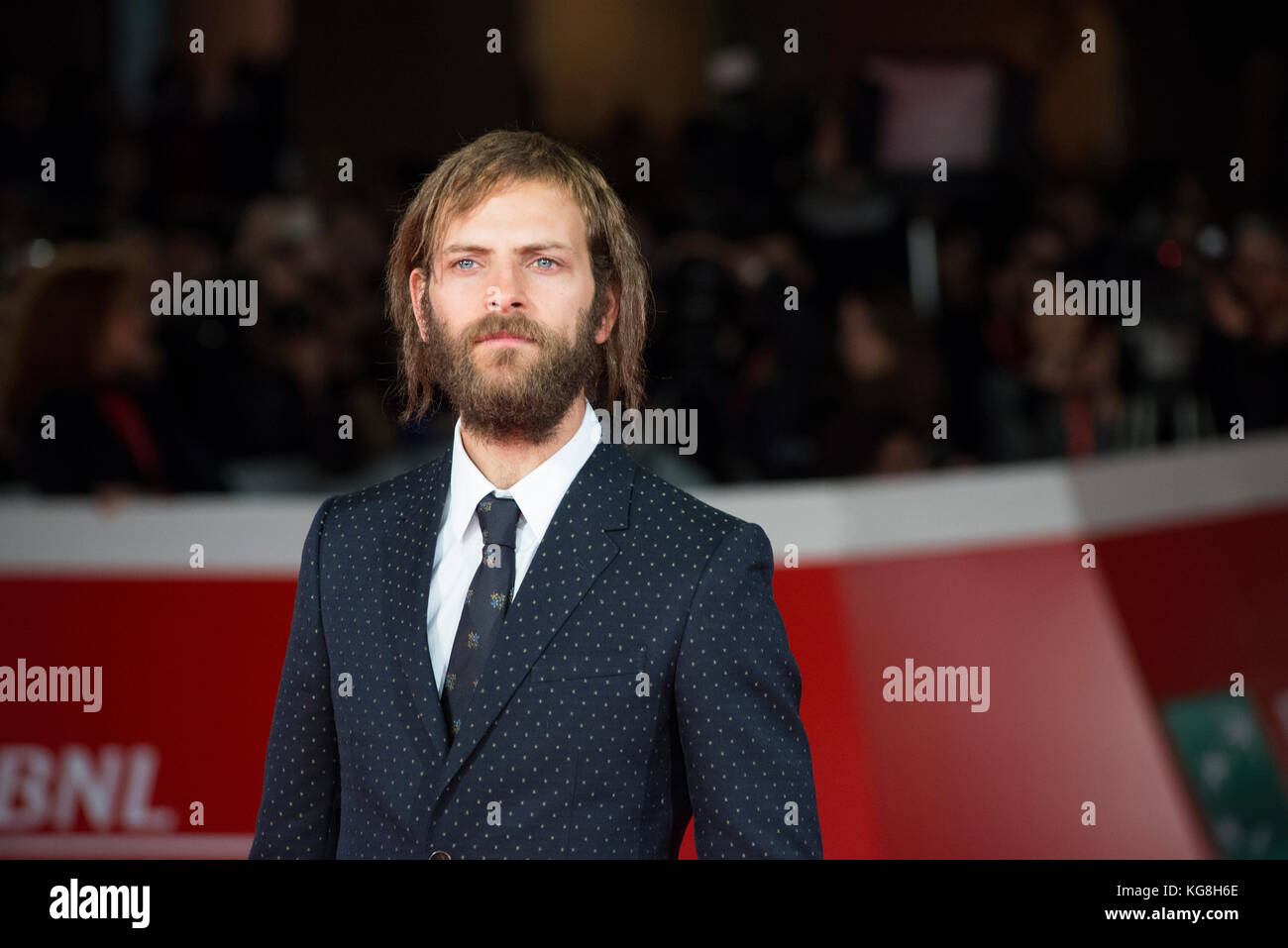 Red carpet of The Place with whole cast during the 12th Rome Film Fest - Stock Image