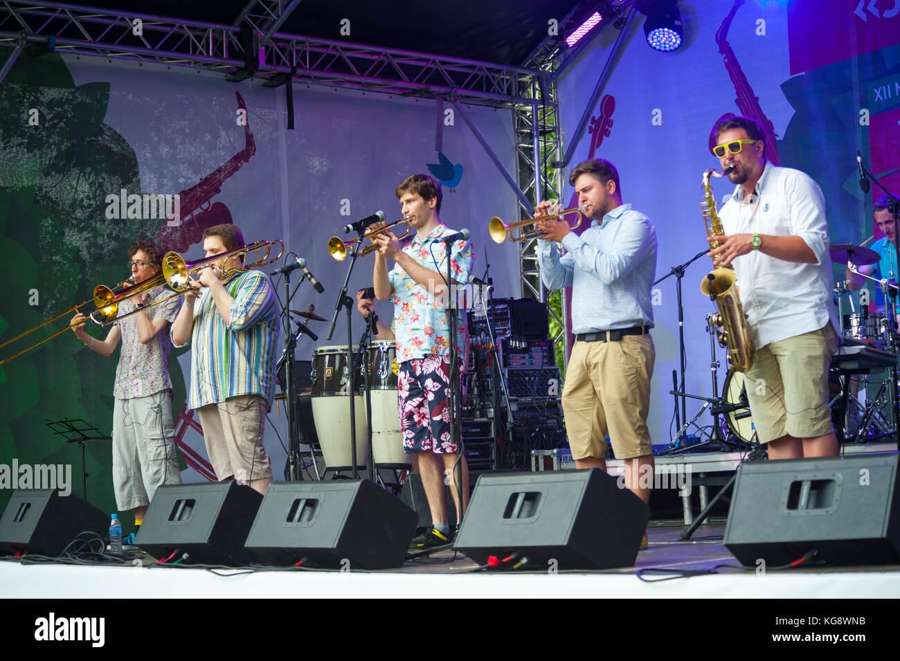 Usadba Jazz Festival - Stock Image