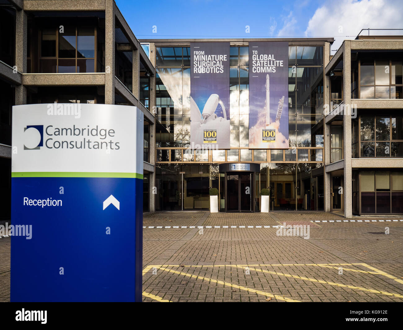 Cambridge Consultants Offices on Cambridge Science Park - Stock Image