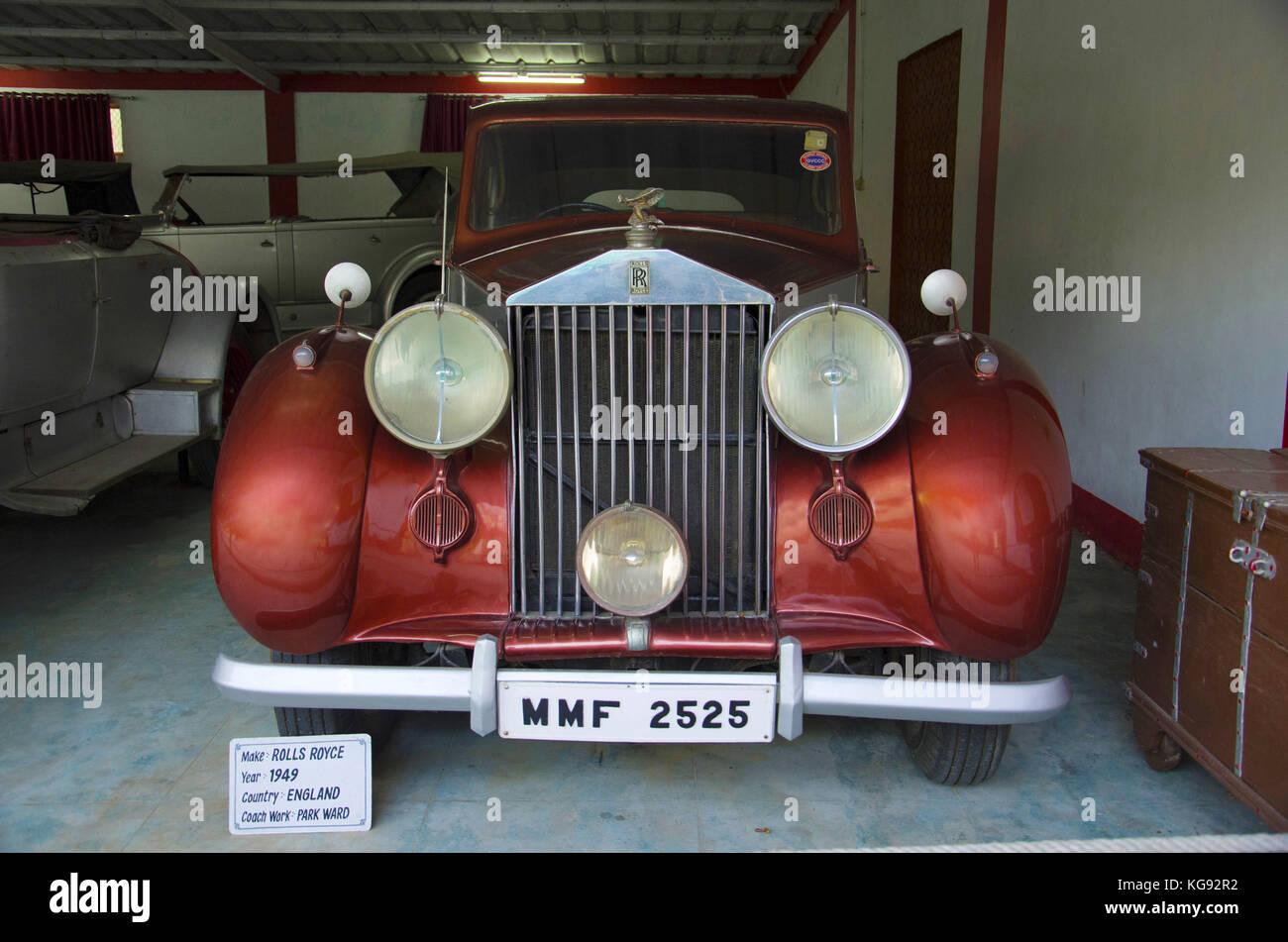 Rolls Royce (Year 1949), Coach work - park ward, England Auto world ...