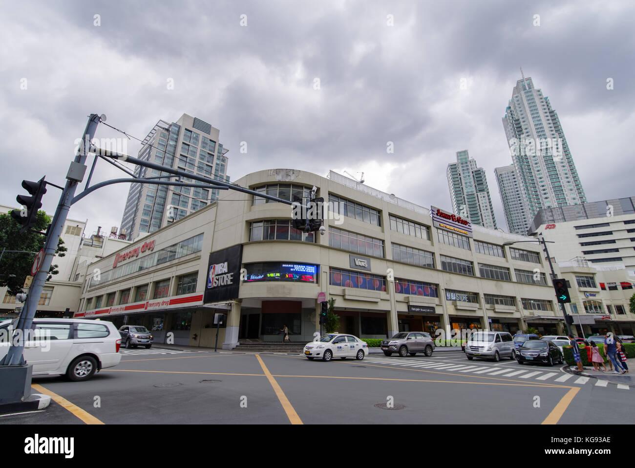 Nov 5,2017 Glorietta Shopping mall at Crosswalk, Makati - Stock Image