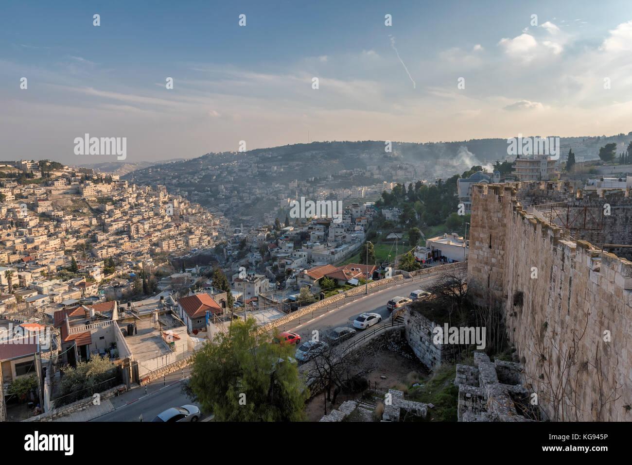Jerusalem Old City, Israel. - Stock Image