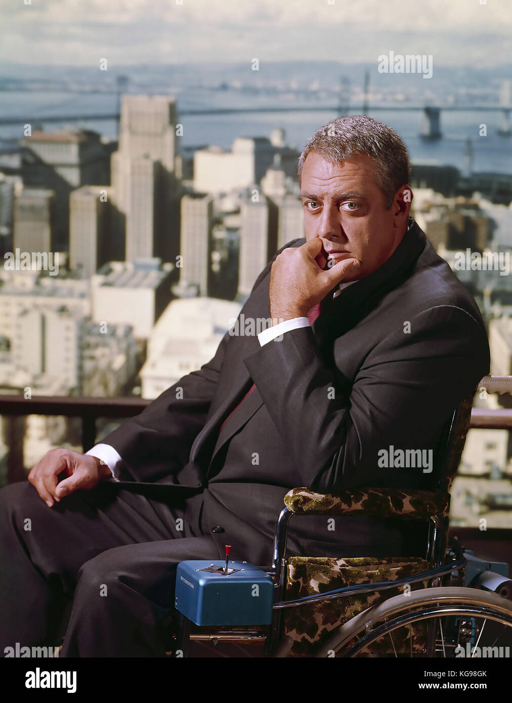 IRONSIDE Universal Television  series 1967-1975 with Raymond Burr - Stock Image