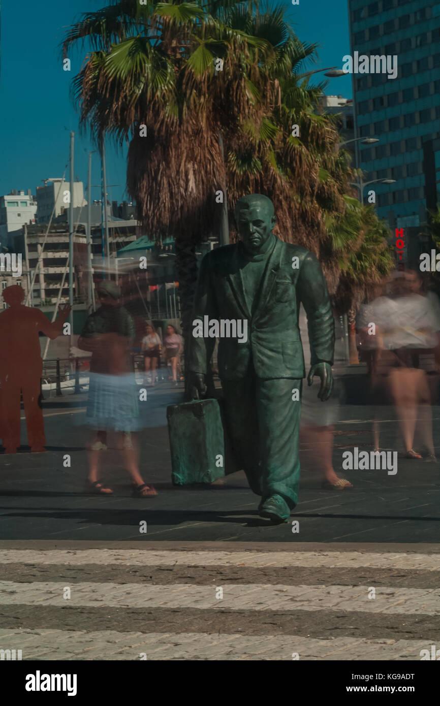 Vigo Statues - Stock Image